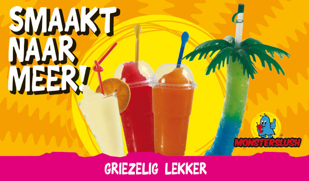 Monsterslush | Carousel bekertjes